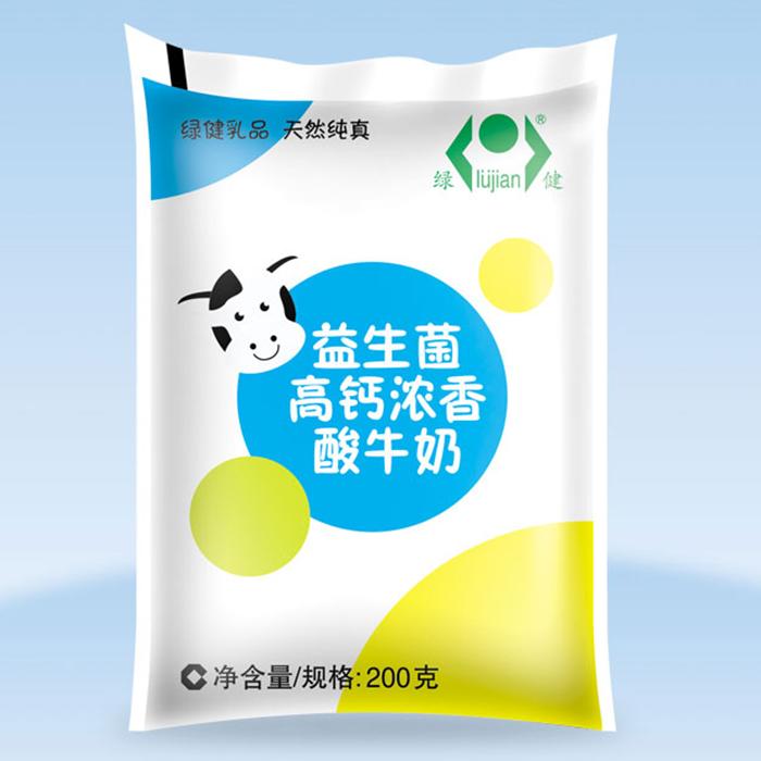 益生菌高钙浓香酸牛奶