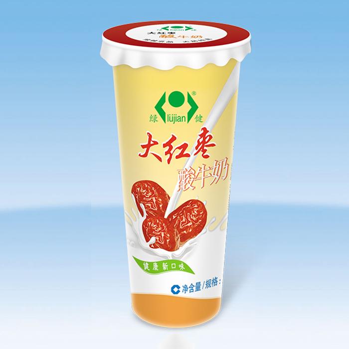 大红枣酸牛奶