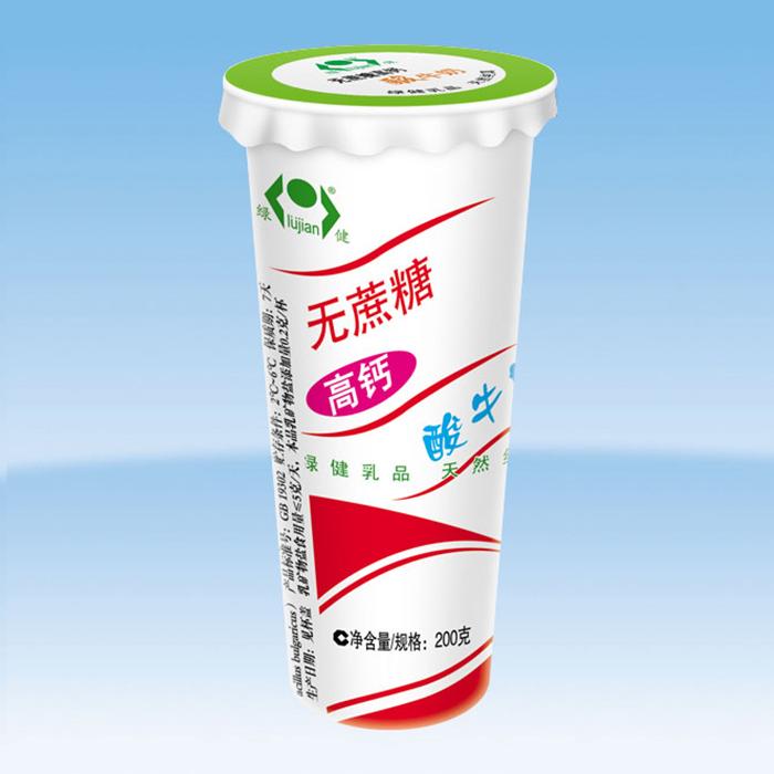 无蔗糖高钙酸牛奶
