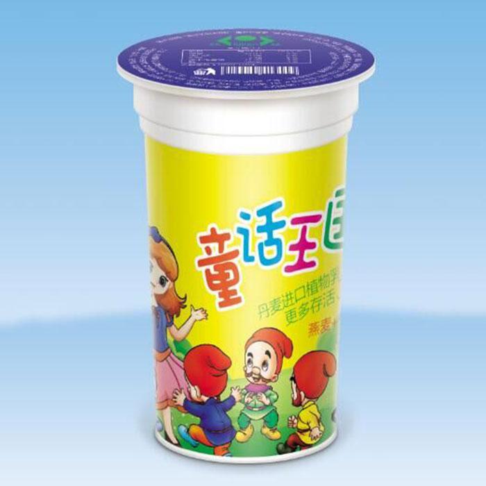 童话王国风味发酵乳( 燕麦+椰果)