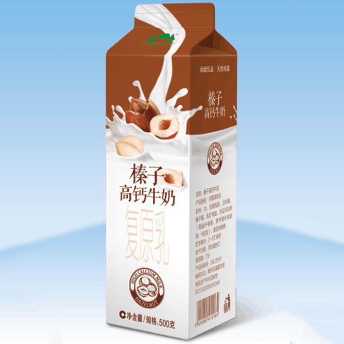 榛子高钙牛奶