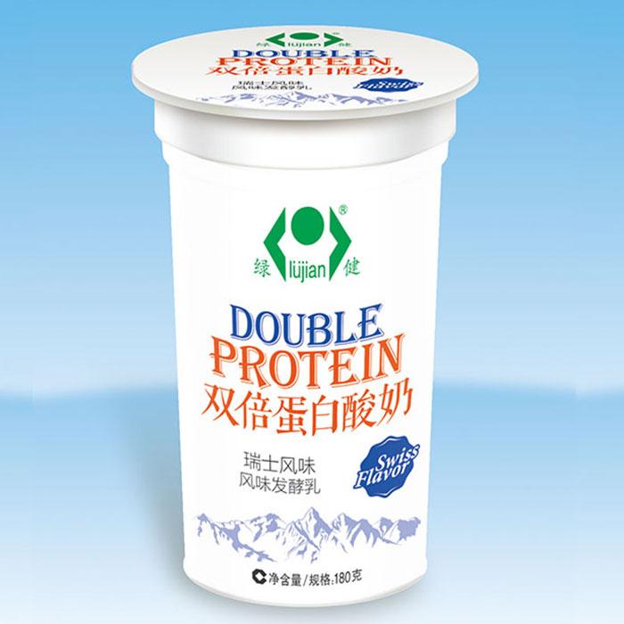 双倍蛋白酸奶