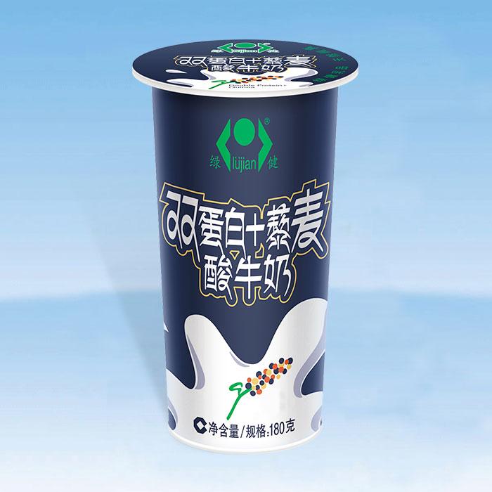 双蛋白+藜麦酸牛奶