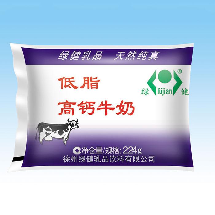 低脂高钙牛奶